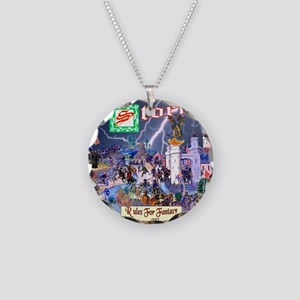 Waken The Storm Cover Necklace Circle Charm