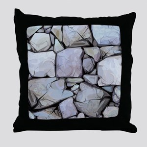 Stones Pattern Throw Pillow