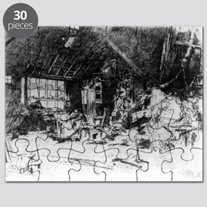 The smithy - Whistler - c1880 Puzzle
