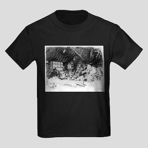 The smithy - Whistler - c1880 Kids Dark T-Shirt