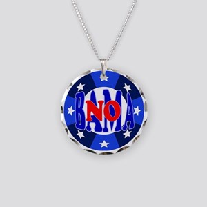 No Bama - ABO Necklace Circle Charm