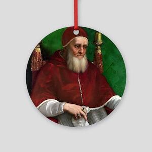 Pope Julius II - Raphael Round Ornament