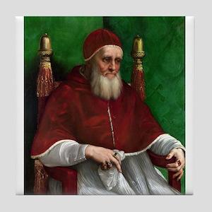 Pope Julius II - Raphael Tile Coaster