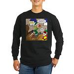 Elf Launch Long Sleeve Dark T-Shirt