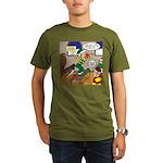 Elf Launch Organic Men's T-Shirt (dark)