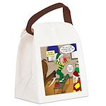 Elf Launch Canvas Lunch Bag