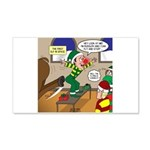 Elf Launch 20x12 Wall Decal