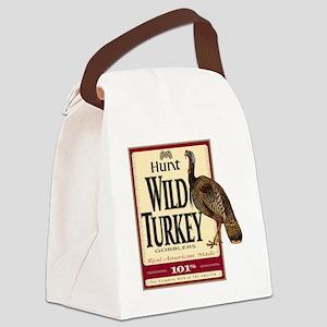 Hunt Wild Turkey Canvas Lunch Bag