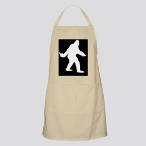 Bigfoot Flips The Bird Apron