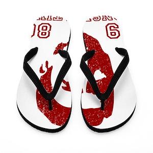 90d44cda0de6 Old School Conservative Flip Flops - CafePress