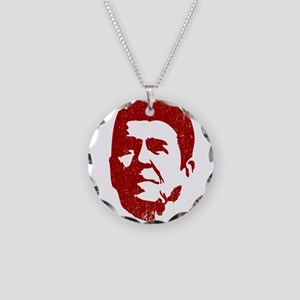 Old School Conservative Necklace Circle Charm