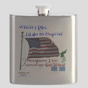 When I Die... Korea Flask