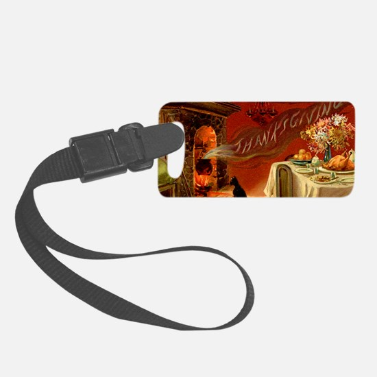thanksgiving dinner Luggage Tag