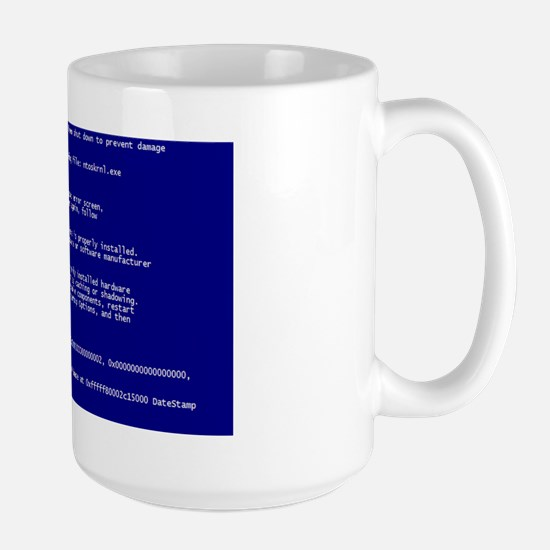Mouse Pad BSOD Large Mug