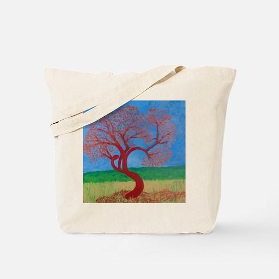 Ruby Crowned Kinglet Tote Bag