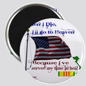 When I Die... Vietnam Magnet