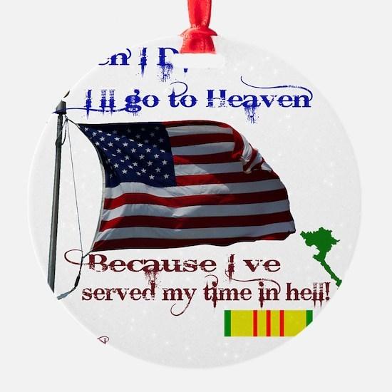 When I Die... Vietnam Ornament