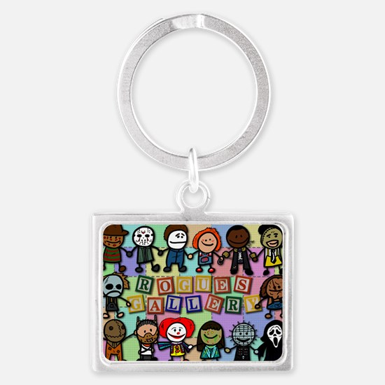 Rogues Gallery Landscape Keychain