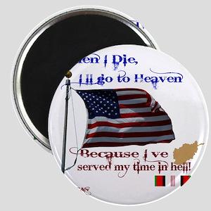 When I Die... Afghanistan Magnet