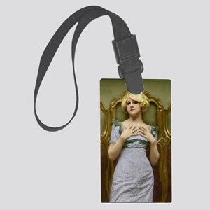 Natural Victorian Beauty Large Luggage Tag