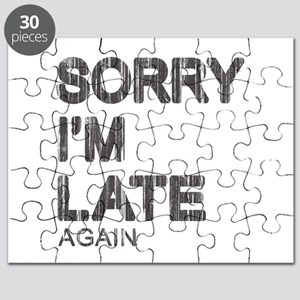 Sorry I'm Late Puzzle