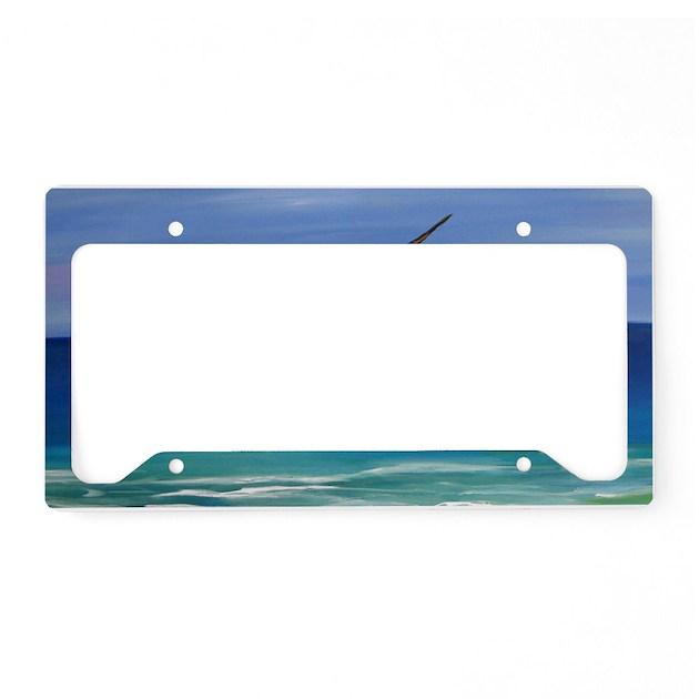 Marlin Deep Sea Fishing License Plate Holder By Admin