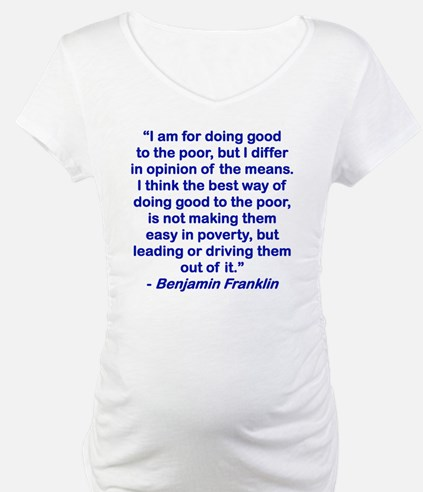 I AM FOR DOING GOOD TO THE POOR. Shirt