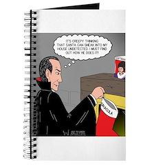 A Vampire Contemplates Santa Journal