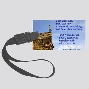 only one Large Luggage Tag