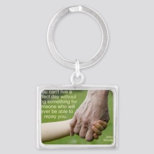 perfect day Landscape Keychain
