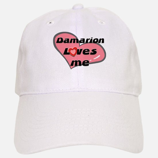 damarion loves me Baseball Baseball Cap