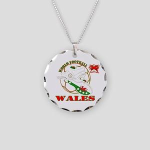 world football wales dragons Necklace Circle Charm