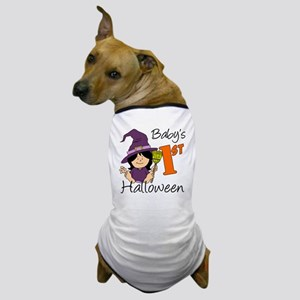 First Halloween Girl Dog T-Shirt