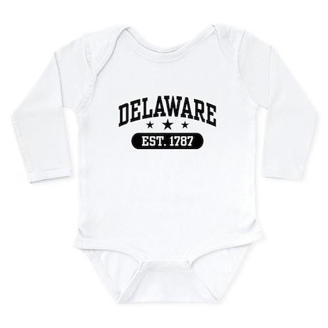 Delaware Est. 1787 Long Sleeve Infant Bodysuit
