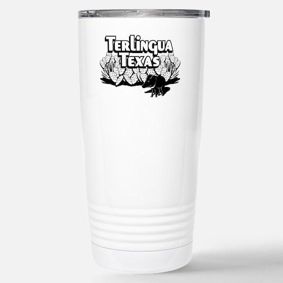 Terlingua Texas Stainless Steel Travel Mug
