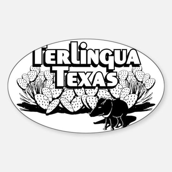 Terlingua Texas Sticker (Oval)