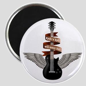 e-guitar rock wings Magnet