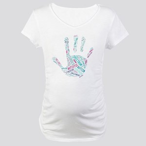 Autism Awareness - Talk To The H Maternity T-Shirt