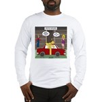 Car Christmas Present Long Sleeve T-Shirt