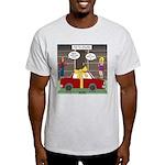 Car Christmas Present Light T-Shirt