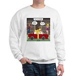 Car Christmas Present Sweatshirt