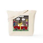 Car Christmas Present Tote Bag