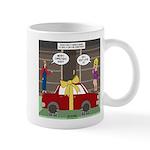 Car Christmas Present Mug