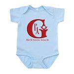 PHA He'll Grow into it. Infant Bodysuit