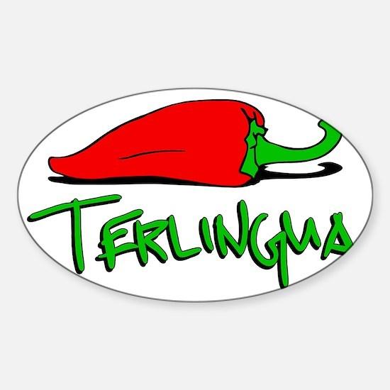 Terlingua Chili Sticker (Oval)