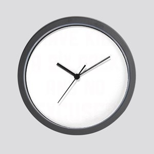 Kids and no excuses Wall Clock