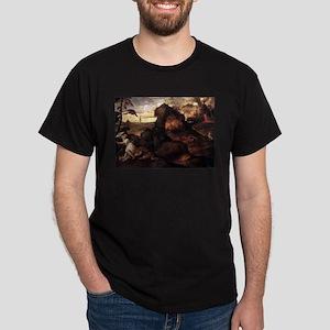 Orpheus and Eurydice - Titian - c1508 T-Shirt