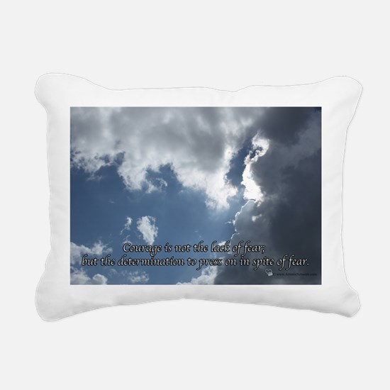 Courage11 Rectangular Canvas Pillow