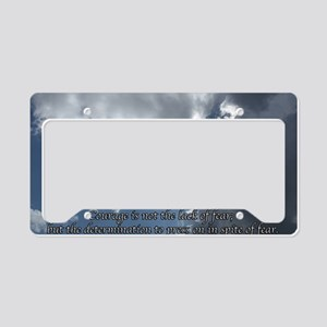 Courage11 License Plate Holder