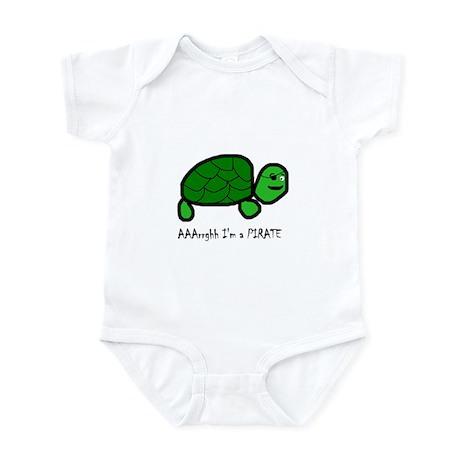 Pirate Turtle Infant Bodysuit